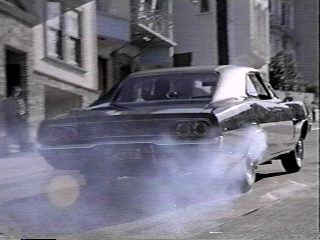"Charger from the movie ""Bullit"""